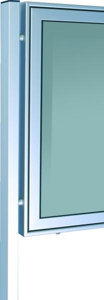 Ständer zum Einbetonieren 80x40 für Schaukästen