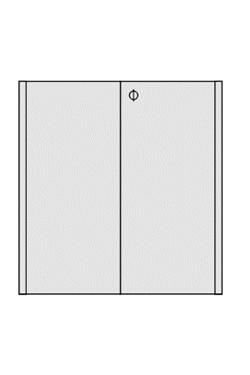 Türen für Messetheke OCTAcounter