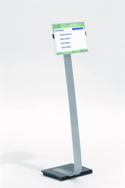 Bodenaufsteller INFO SIGN mit Gussfuß