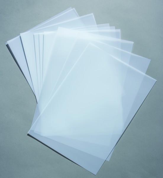 Lackmattierte Polyesterfolie