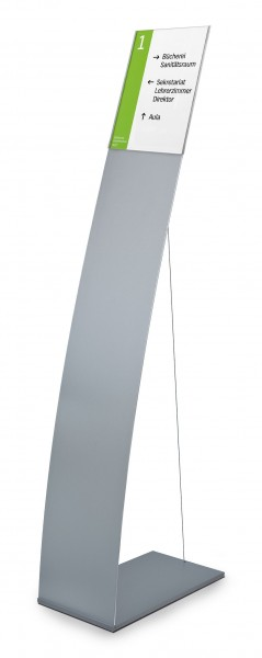 Bodenaufsteller LITE Secure mit Spannseil | modular