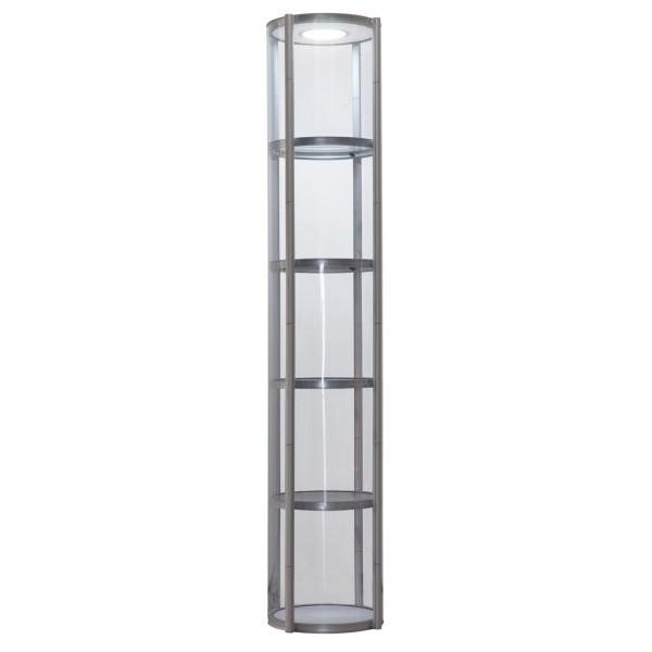 Bodenvitrine mobil | Säule 2500 LED