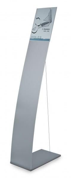 Bodenaufsteller NEW AGE mit Spannseil | modular