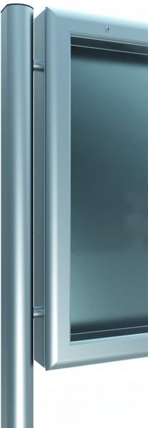 Ständer zum Aufdübeln 76x62 für Schaukästen