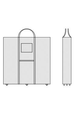 Transporttasche für Messetheke OCTAcounter