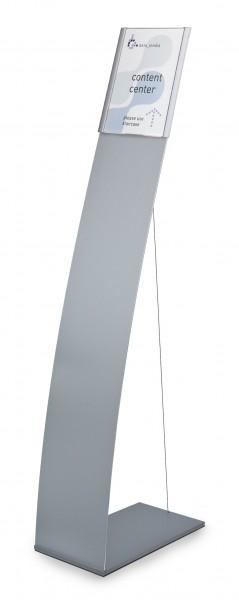 Bodenaufsteller ATLANTIC mit Spannseil | modular