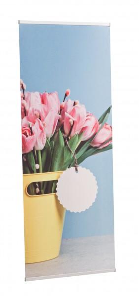 Bannerdisplay L-Form Budget mobil II
