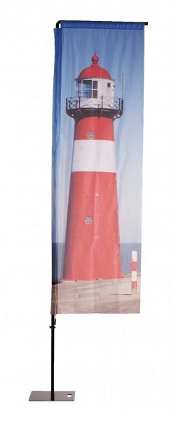 Beachflag Aluminium mobil III