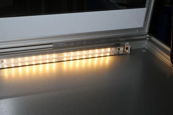 LED-Beleuchtung für Schaukästen