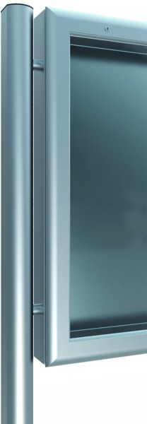 Ständer zum Einbetonieren 76x62 für Schaukästen
