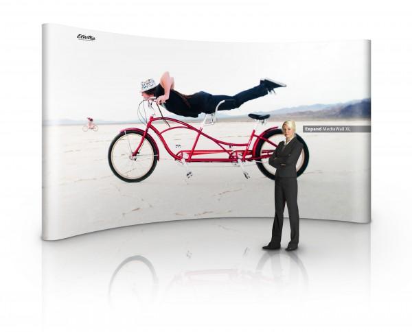 PopUp Faltsystem Magnetschienen Expand MediaWall XL