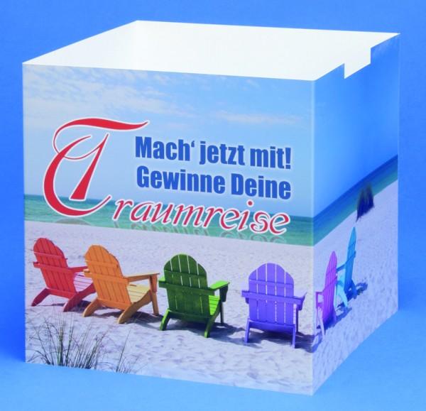 Plakattascheneinsatz für Losbox