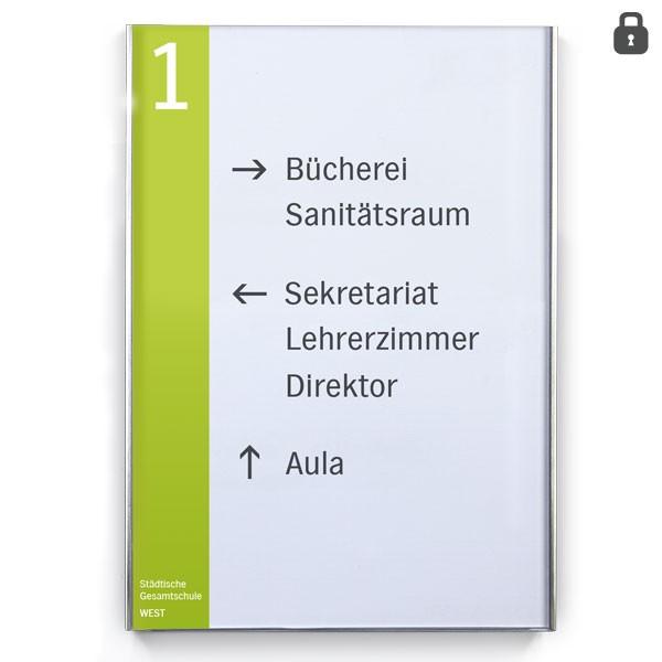 Infotafel / Wegweiser LITE Secure